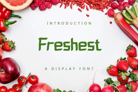Print on Demand: Freshest Display Font By giatstudios