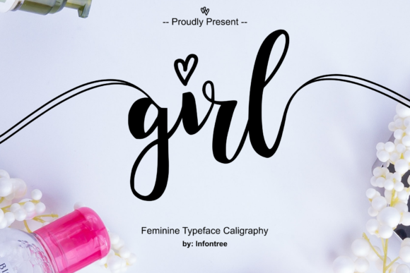 Print on Demand: Girl Script & Handwritten Font By Infontree