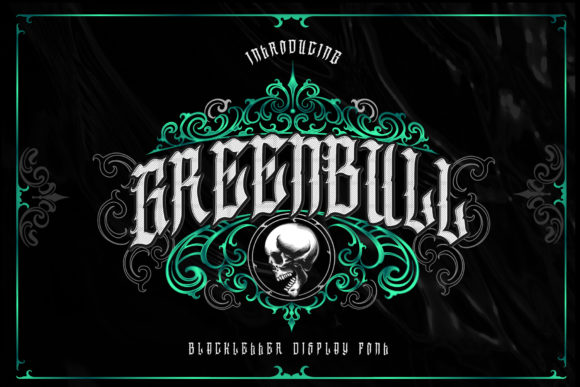 Print on Demand: Greenbull Blackletter Font By Dansdesign