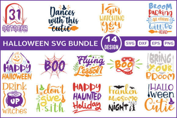 Halloween Bundle 005 Graphic By Graphiccycle Creative Fabrica