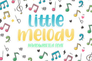 Print on Demand: Little Melody Display Font By RochArt