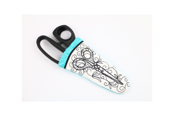 Love Scissors Case in the Hoop Embroidery Download