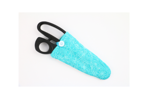 Love Scissors Case in the Hoop Embroidery Item