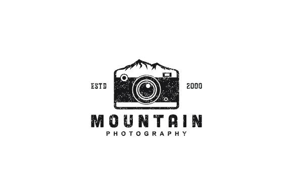 Print on Demand: Mountain Photography Logo Design Graphic Logos By Prosperos