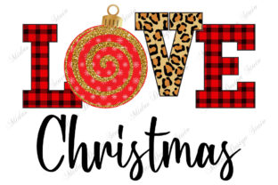 Sublimation - Leopard Christmas Graphic Crafts By MidasStudio