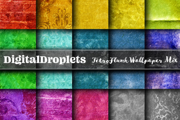 Tetro Flunk Wallpaper MIX Graphic Backgrounds By digitaldroplets