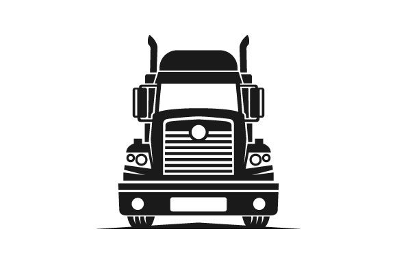 Truck Logistic Vector Silhouette Logo Graphic Logos By hartgraphic