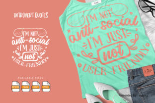 Print on Demand: 10 Introvert Bundle   Lettering Quotes Graphic Crafts By Vunira 5