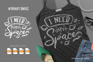 Print on Demand: 10 Introvert Bundle   Lettering Quotes Graphic Crafts By Vunira 6