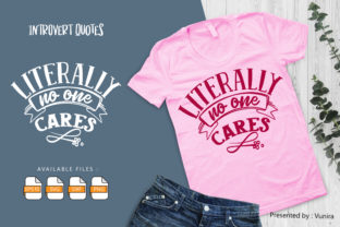 Print on Demand: 10 Introvert Bundle   Lettering Quotes Graphic Crafts By Vunira 9