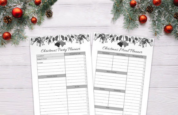 Christmas Planner Graphic Preview