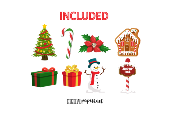 Classic Christmas Graphic Download