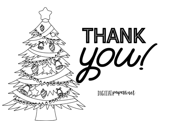 Classic Christmas Outlines Graphic Item