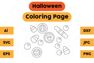 Coloring Pages Kids Halloween Cute Graphic Coloring Pages & Books Kids By isalsemarang
