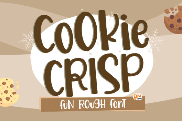 Print on Demand: Cookie Crisp Display Font By dmletter31