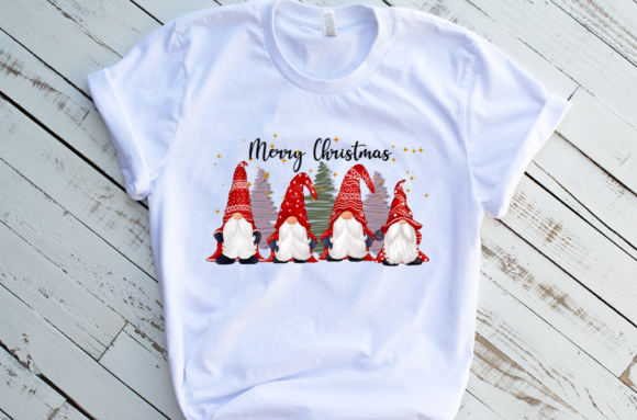 Cute Gnomes Christmas Sublimation Graphic Download
