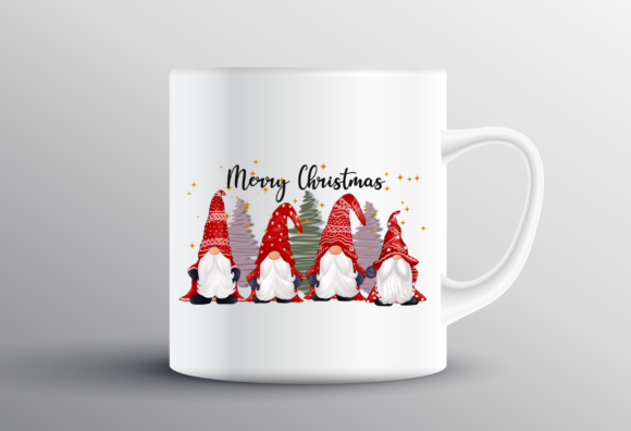 Cute Gnomes Christmas Sublimation Graphic Design