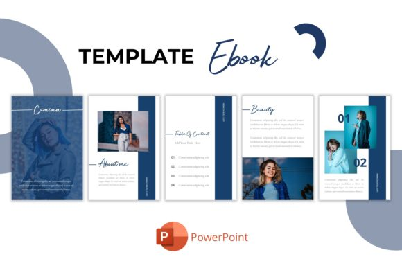 Ebook Template - Cumina Graphic Presentation Templates By bhagawantastudio
