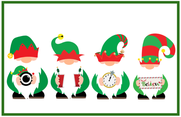 Elf Gnomes Graphic Crafts By CREATIVE M.D