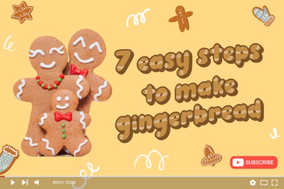 Ginger Biscuit Font Preview