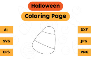Halloween Coloring Page Kids Graphic Coloring Pages & Books Kids By isalsemarang