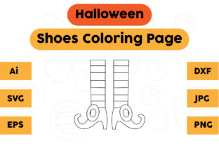 Halloween Shoes Coloring Pages Kids Graphic Coloring Pages & Books Kids By isalsemarang