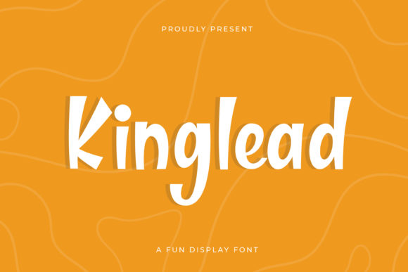Print on Demand: Kinglead Display Font By almarkhatype