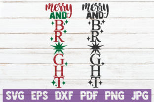 Merry and Bright Graphic Crafts By MintyMarshmallows