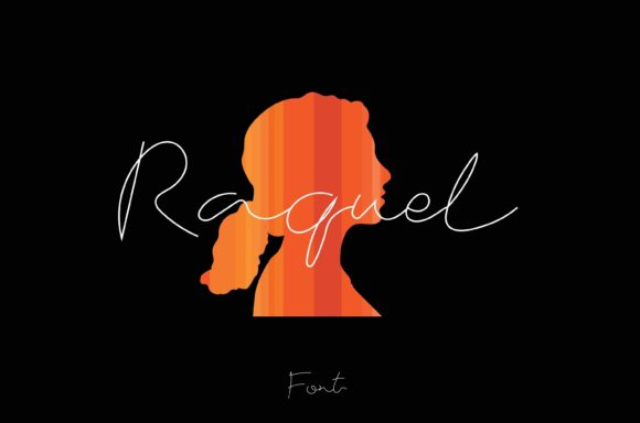 Print on Demand: Raquel Script & Handwritten Font By Fontana Studio