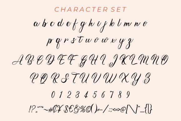 Roseytha Font Image