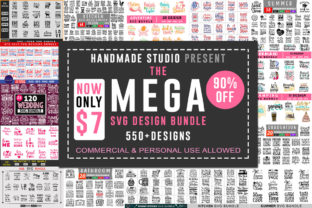The Mega SVG Bundle  By Handmade studio