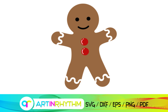 Gingerbread Man, Gingerbread Man Svg Graphic Crafts By artinrhythm