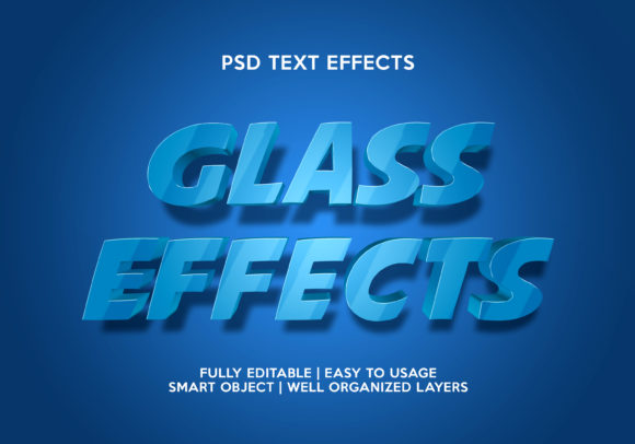 Glass Text Effects Graphic Layer Styles By gilangkenter