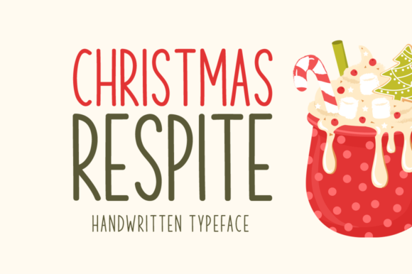 Print on Demand: Christmas Respite Script & Handwritten Font By Seemly Fonts