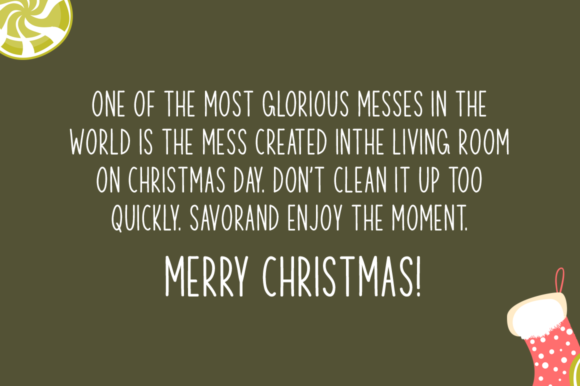 Christmas Respite Font Download