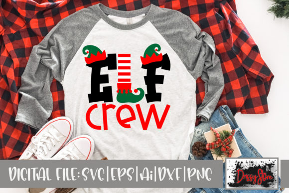 Elf Crew Graphic Illustrations By DrissyStore