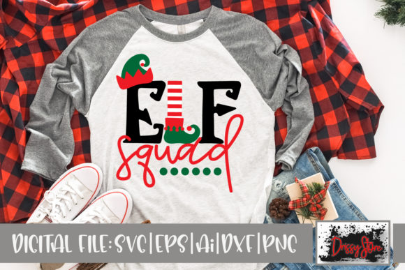 Elf Squad Graphic Crafts By DrissyStore