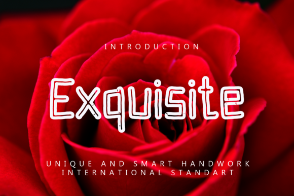Print on Demand: Exquisite Display Font By giatstudios