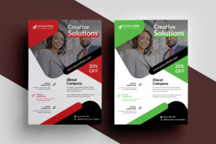 Flyers Graphic Print Templates By Pixelpick