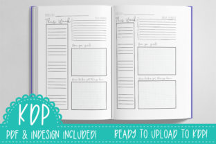 Print on Demand: Fresh Start Weekly Planner | KDP PDF Graphic KDP Interiors By planfantastic