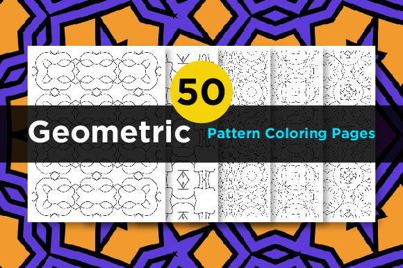 Print on Demand: Geometric Adult Coloring Pages Graphic Coloring Pages & Books Adults By Riduwan Molla