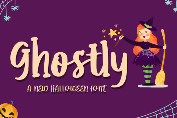 Print on Demand: Ghostly Script & Handwritten Font By hugefonts