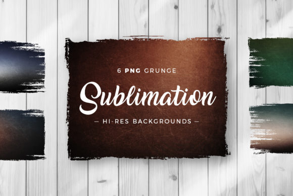 Print on Demand: Grunge Sublimation Background Textures Graphic Backgrounds By DTCreativeLab