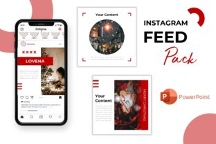 Instagram Feed Template- Lovena Graphic Presentation Templates By listulabs
