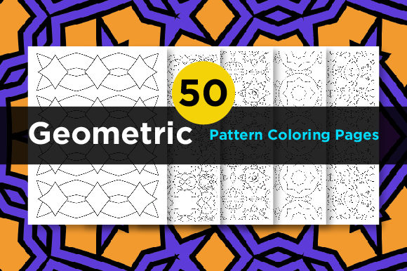 Print on Demand: Kdp Geometric Coloring Pattern Graphic Coloring Pages & Books Adults By Riduwan Molla