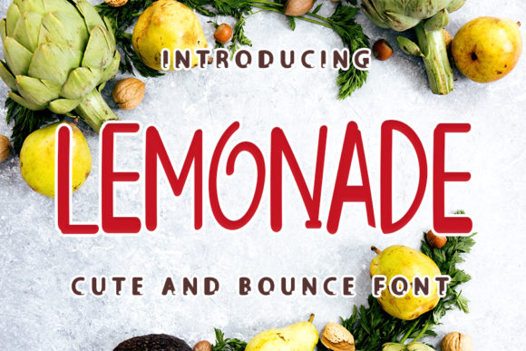 Print on Demand: Lemonade Script & Handwritten Font By ONE DESIGN