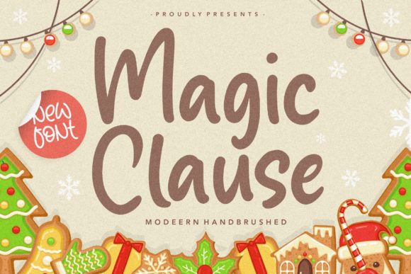 Print on Demand: Magic Clause Script & Handwritten Font By Balpirick
