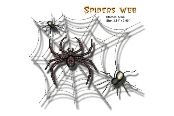 Spiders Web Embroidery