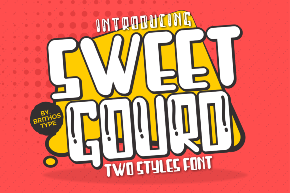 Print on Demand: Sweet Gourd Display Font By brithostype