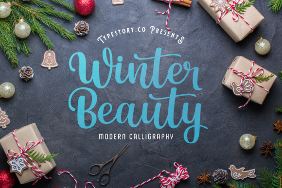 Print on Demand: Winter Beauty Script & Handwritten Font By Typestory